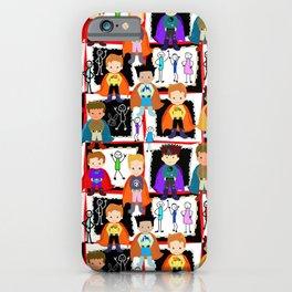 Little Super Heroes  iPhone Case