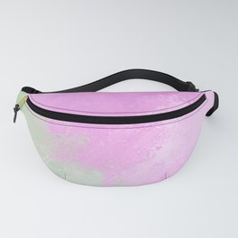 Fantasy Sci-Fi Beach Aerial View Fanny Pack