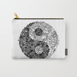 Yin Yang Doodle Carry-All Pouch
