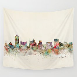 memphis tennessee skyline Wall Tapestry