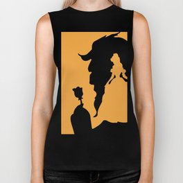 beauty & the beast Biker Tank