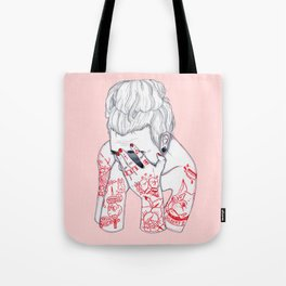 Troubled  Tote Bag