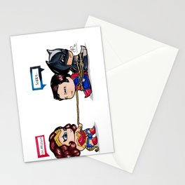 Chibi Dawn of Justice - JLA Stationery Cards