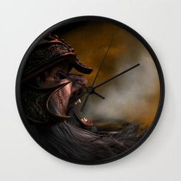 War Of The Dwarves Wall Clock
