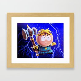Thor Butters Framed Art Print