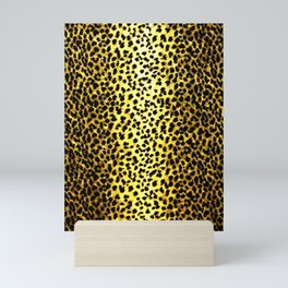 Leopard Print Animal Wallpaper Mini Art Print