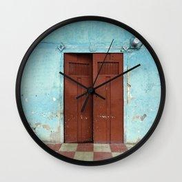 entr'apercevoir Wall Clock
