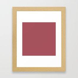 Christmas Rose Velvet Framed Art Print