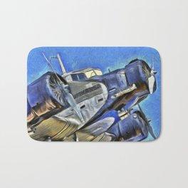 Junkers Ju 52 Van Gogh Bath Mat