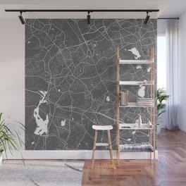 Lexington USA Modern Map Art Print Wall Mural