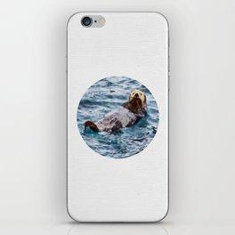 Happy Otter iPhone Skin