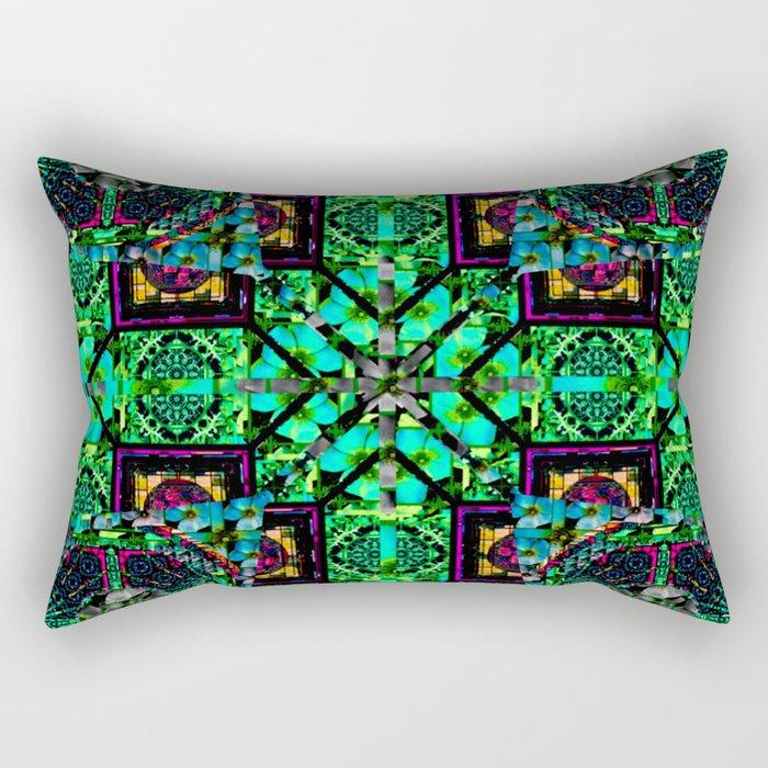 flower power 16 Rectangular Pillow