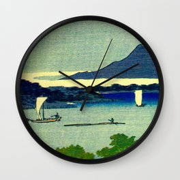 Springtime In Japan, Thinking Of You Wall Clock