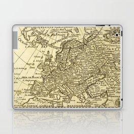 Vintage map of Europe Laptop & iPad Skin