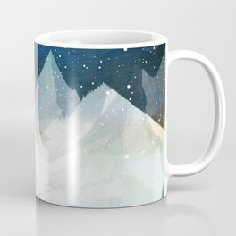 Mountain Lake Under the Starlight Coffee Mug