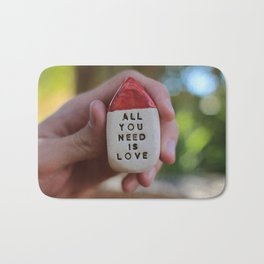 All You Need Is Love House Bath Mat