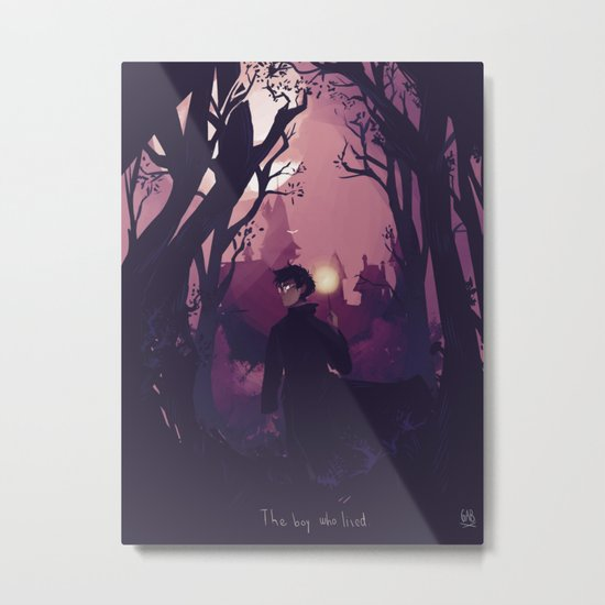 The boy who lived Metal Print