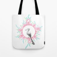new year Tote Bags featuring NEW YEAR by yoonmi