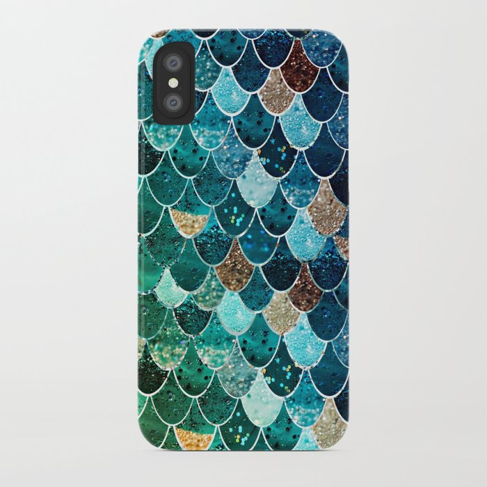 REALLY MERMAID TIFFANY iPhone Case