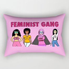 Feminist Gang Rectangular Pillow