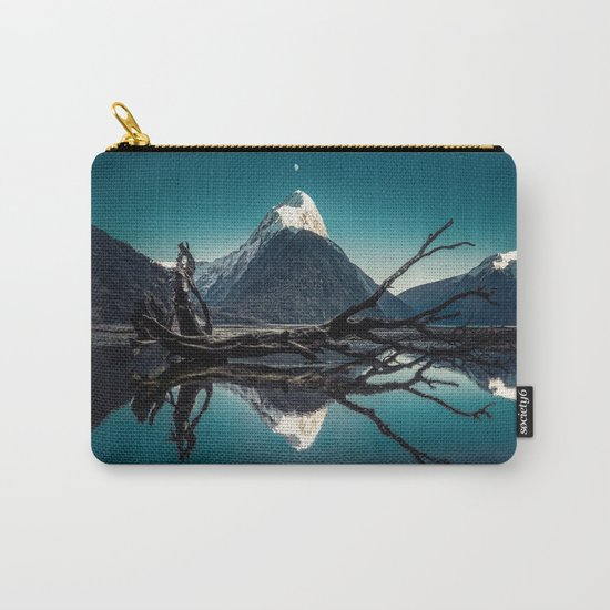 Blue Mountain #landscape Carry-All Pouch