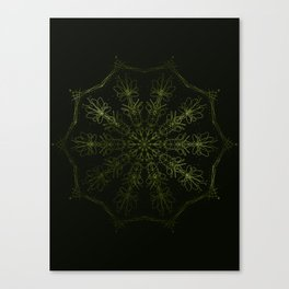 green sun Canvas Print