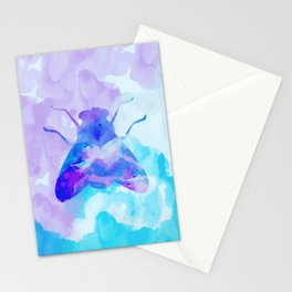 Abstract Fly Stationery Cards