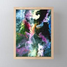 In Space Framed Mini Art Print