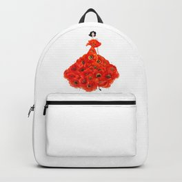 Fashion poppies Backpack