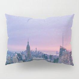 New York Sunset, I love NYC (Manhattan, Brooklyn, Queens) Pillow Sham