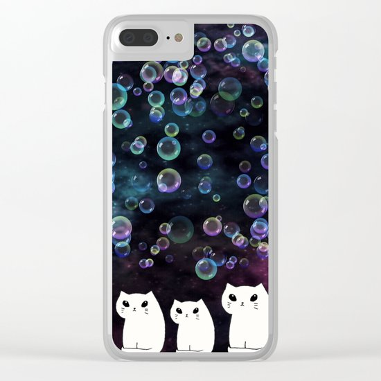 cats-426 Clear iPhone Case