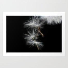 Dandelion Glow Art Print