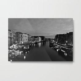 Venice Photography Art, Canal Grande Venice Wall Art, Venice Italy Metal Print