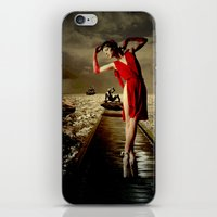siren iPhone & iPod Skins featuring Siren by Galen Valle