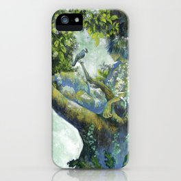 Hiding in the leaves iPhone Case