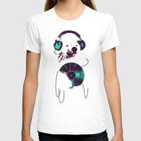 budi T-shirts featuring Record Bear by Picomodi