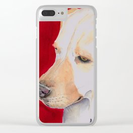 Ruby Clear iPhone Case