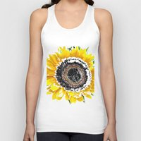 sunflower Tank Tops featuring Sunflower by Regan's World
