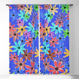 Spring Flowers Blackout Curtain