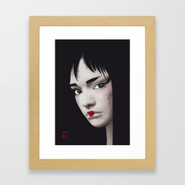 Geisha 2.0 Framed Art Print