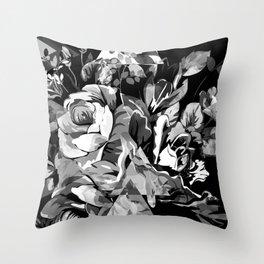 FLORIAN (BLACK & WHITE) Throw Pillow