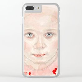 Look at me. Clear iPhone Case