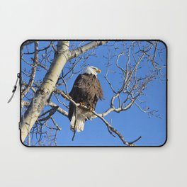 Wintertime Baldy Laptop Sleeve