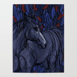 Valor the Mustang Poster