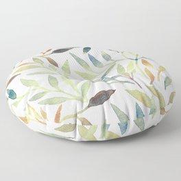 Leaves 5 Floor Pillow