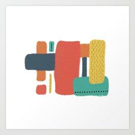 Modern Vibes Art Print