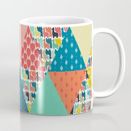llama geo triangles Coffee Mug