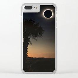 Palmetto Eclipse Clear iPhone Case