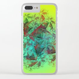 simply creative Clear iPhone Case