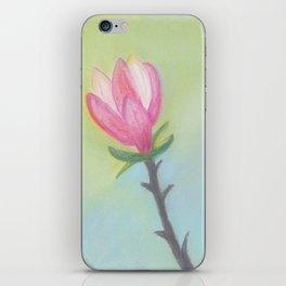 Bright Magnolia Bloom iPhone Skin